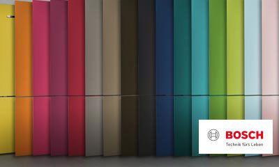 Bosch Kühlschrank Kundendienst : Bosch vario style farbige fronten für ihren kühlschrank